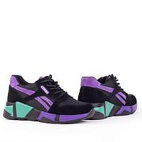 Женские легкие кроссовки Lonza YY8888-2 PURPLE