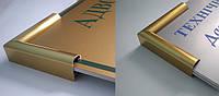Табличка в рамке 120х300- TL_011