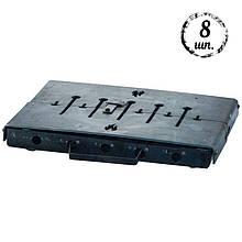 Мангал-чемодан DV - 8 шп. x 1,5 мм (холоднокатанный)   Х006