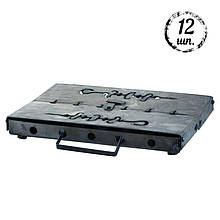 Мангал-чемодан DV - 12 шп. x 1,5 мм (холоднокатанный)   Х008