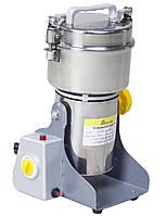 Домашняя бытовая мини мельница MILLER-800 электрическая дробилка для зерна, кофе, специй, перца и тд.