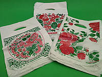 """Пакет полиэтиленовый подарочный маленький с вырубной ручкой (20*30) """"Миник №1"""" Петриковка Комсерв (100 шт), фото 1"""