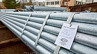 Труба водогазопроводная оцинкованная 57х4.0 мм стальная ВГП