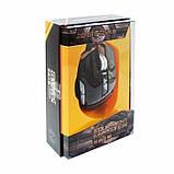 Компьютерная игровая мышь, мышка Zornwee GX10 с подсветкой Чёрный, фото 3