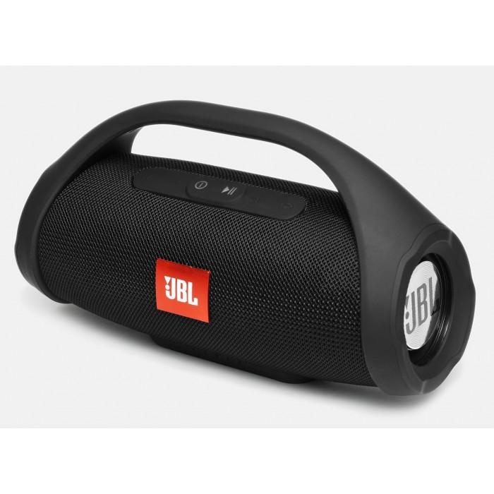 Портативная bluetooth колонка влагостойкая JBL Boombox B9 mini FM, MP3, радио Чёрная
