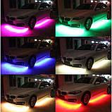Светодиодная подсветка днища автомобиля с пультом управления UKC APT 4943 120 и 90 см, фото 5