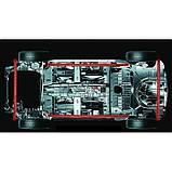 Светодиодная подсветка днища автомобиля с пультом управления UKC APT 4943 120 и 90 см, фото 7