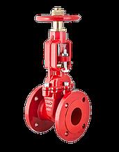 Задвижка (OS & Y) фланцевая водяного пожаротушения (Duyar Турция) DN 065, DN 080, DN 100, DN 150, DN 200