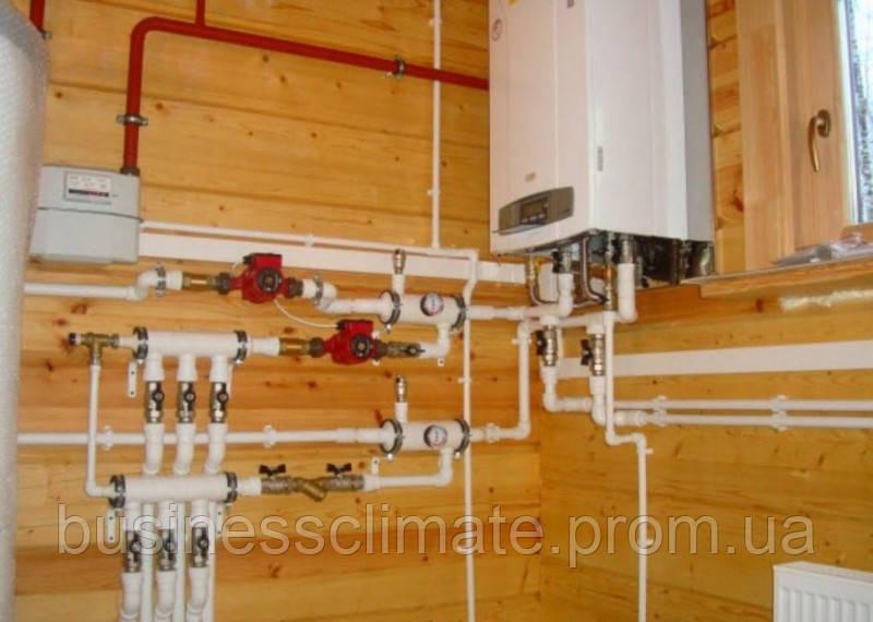 Монтаж современных систем отопления. Киев и Киевская область - фото 9