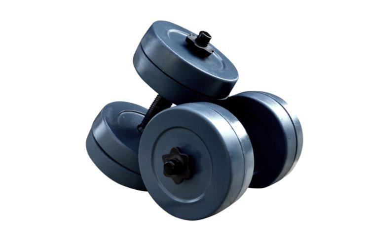 Гантелі RN-Sport гранилитные по 10 кг (GD-10)