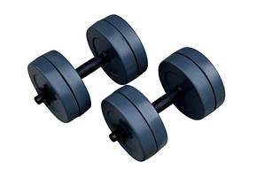 Гантелі RN-Sport гранилитные по 10 кг (GD-10), фото 2
