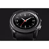 Сенсорные Smart Watch V8 смарт часы умные часы Чёрные, фото 3