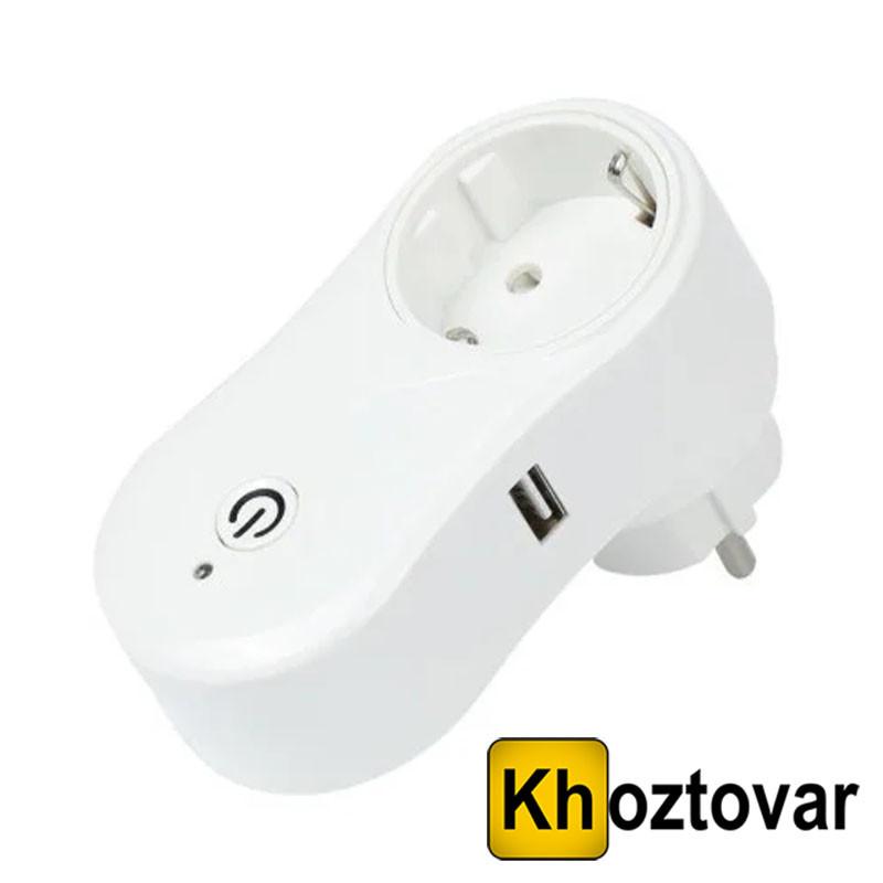 Розетка c Wi-Fi управлінням Socket 10A