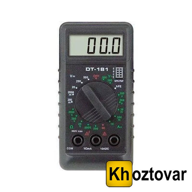 Цифровой мультиметр DT-181
