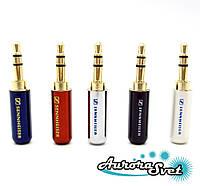 Sennheiser штекер,разъем джек 3-х контактный 3.5 мм аудио разъем Mini Jack 3 pin