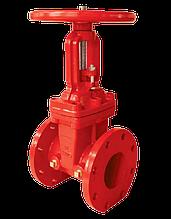 Задвижка (OS & Y) фланцевая системы водяного пожаротушения, Duyar, DN 065,DN 080,DN 100,DN 150,DN 200