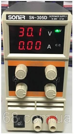 Универсальный лабораторный блок питания 30В 5А импульсный Джерело живлення лабораторний