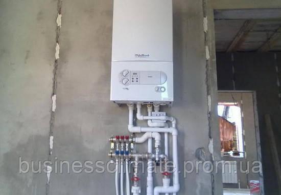 Монтаж современных систем отопления. Киев и Киевская область - фото 1