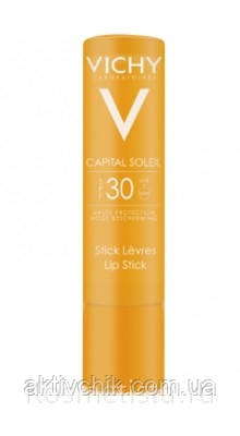 Солнцезащитный стик для губ Виши Vichy Capital Soleil lip stick spf 30