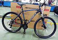"""Велосипед Crosser Inspiron 29"""" рама 21"""" черно-синий, горный алюминиевый, фото 1"""