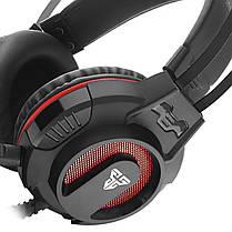 Гарнитура FANTECH Visage II HG17S встроенный микрофон RGB подсветка игровая наушники для геймеров, фото 3