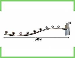 Кронштейн (Флейта) в Экономпанель 34 см посилена (9 кульок)