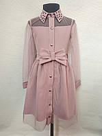 Детское нарядное платье для девочек 6-14 лет, фото 1