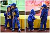 Костюм спорт детский плюш на трикотаже 98-104,104-110,110-116,116-122,122-128, фото 2