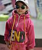 Костюм спорт детский плюш на трикотаже 98-104,104-110,110-116,116-122,122-128, фото 3