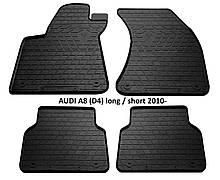Коврики в авто, автоковрики AUDI A8 (D4) long 2010 резиновые Stingray