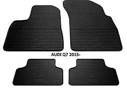 Коврики в салон резиновые Stingray AUDI Q7 2015
