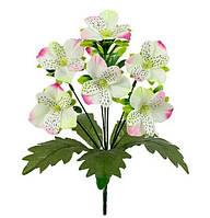 Букет искусственных цветов Орхидея с подкустником , 30 см