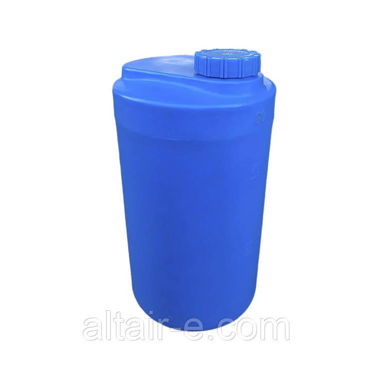 Емкость для реагентов 60л синяя