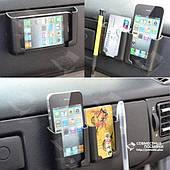 Держатель для телефона, смартфона, планшета или навигатора трансформируемый черный