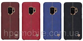Чехол для Samsung Galaxy S9 G960 (2018) - Nillkin Englon Leather Cover, пластик, PU кожа