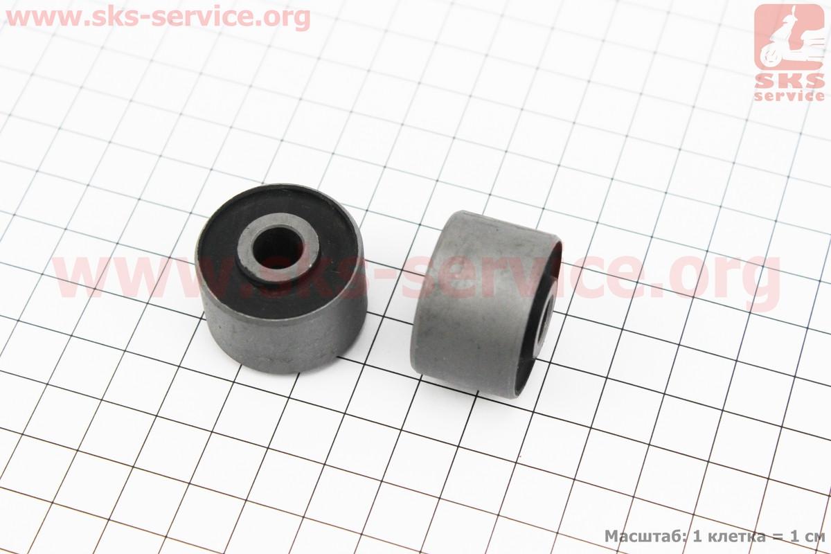 Сайлентблок двигателя 28мм (28*8*20/18) к-кт 2шт на скутер 4т
