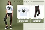 Штани штани, стрейч, хакі, Моне, р. 152, фото 3