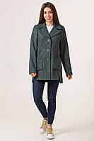 Кардиган тёплый женский  шерстяной   42-50 темно-серый