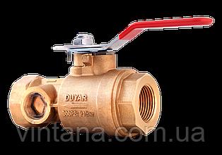 Испытательный и сливной клапан, Duyar,  K 5,6 (80), резьбовой, 1'', 1/4'', 1 12'' 2''