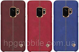 Чехол для Samsung Galaxy S9 Plus G965 (2018) - Nillkin Englon Leather Cover, пластик, PU кожа