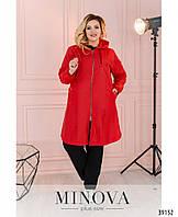 Яркая куртка-дождевик Разные цвета Большие размеры Батал