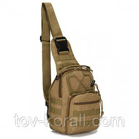 Сумка через плечо для скрытого ношения оружия ONE STRAP TrueGuard койот