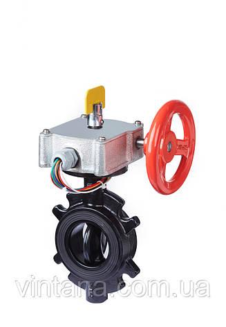 Индикаторный клапан-бабочка для систем водного пожаротушения, Duyar Турция, фото 2