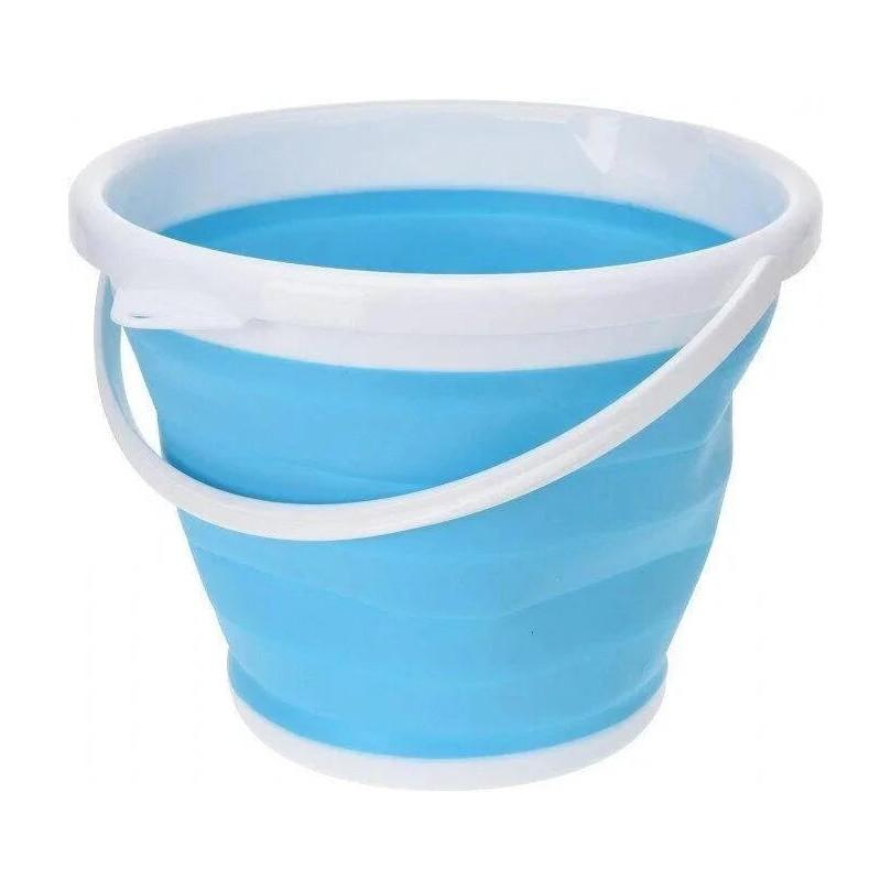 Складное ведро Silicon Bucket 10л. Синее