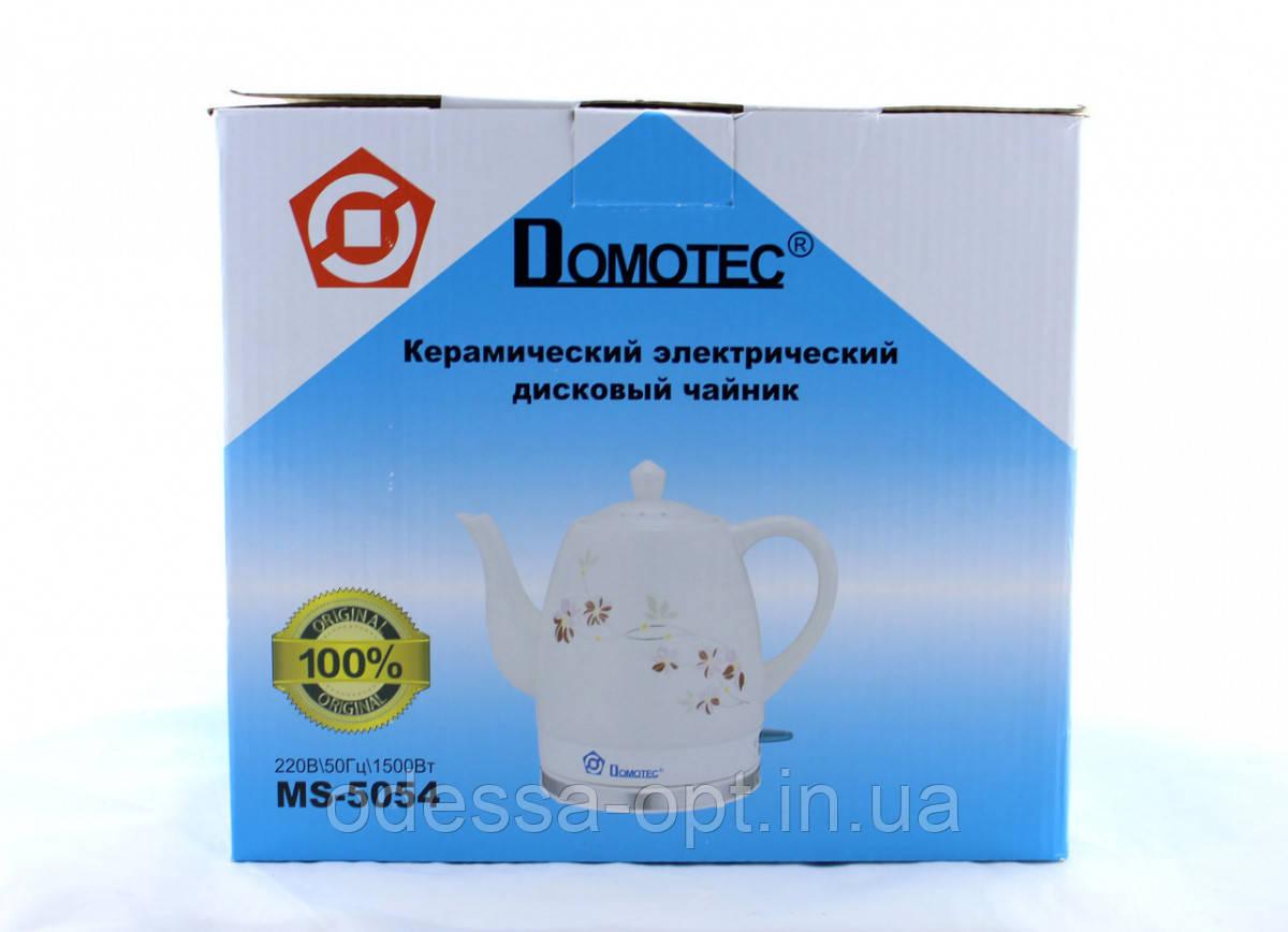 Чайник Domotec MS 5054 керамический 1,5L