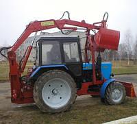 Погрузчик Грейферный  ЭП-Ф-1БМ для Трактора МТЗ