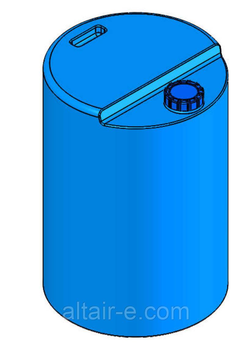 Емкость для реагентов 200л синяя