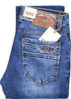 Стильные мужские джинсы BARON,W34 L34 Синие Стрейч