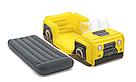 Надувная односпальная кровать Bestway 67714 Джип 160х84х58 см, фото 2