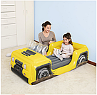 Надувная односпальная кровать Bestway 67714 Джип 160х84х58 см, фото 3